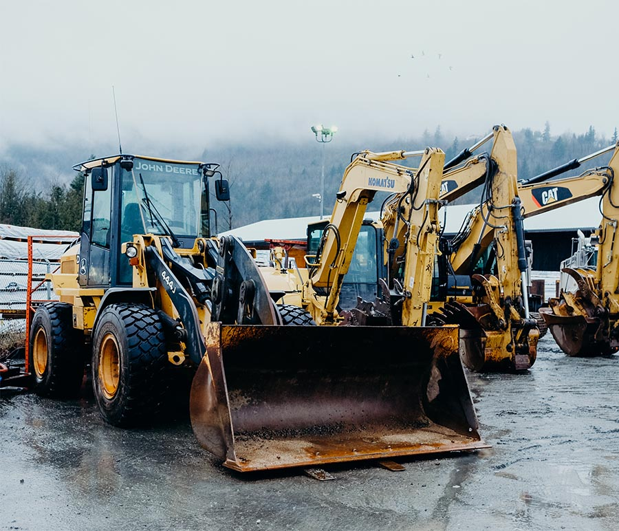 Strohmaier Excavating construction site services in the Fraser Valley